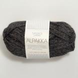 Sandnes Alpakka f1053 mörkt gråmel.