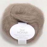 Sandnes Silk Mohair f3471 ljusbrun utgått