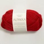 Sandnes Alpakka f4219 röd