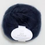 Sandnes Silk Mohair f6081 mörkblå