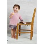 Perminmönster Babyklänning i Ellen