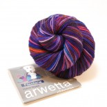Filcolana Arwetta classic handdyed f518 Purple dreams