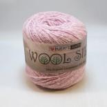 Hjertegarn Wool silk f3015 ljusrosa