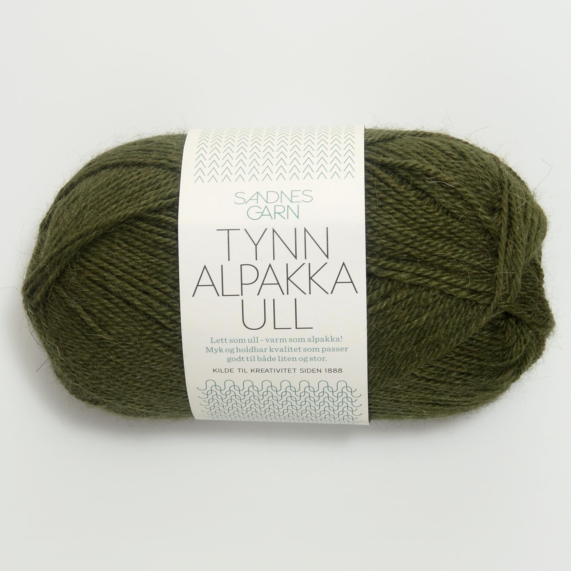 Tynn alpakka/ull