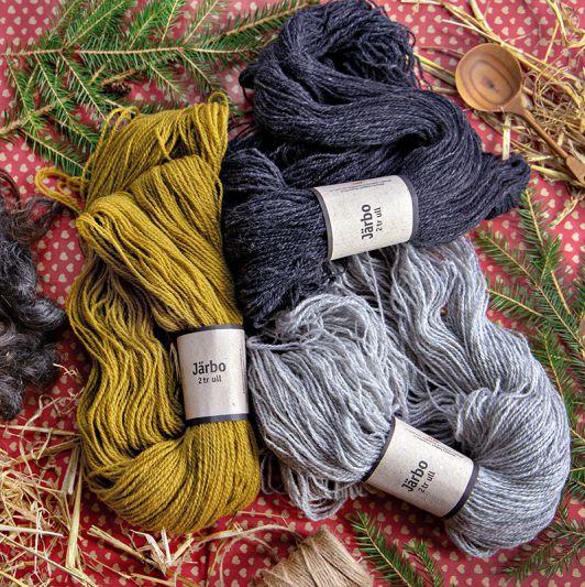 2-trådig ull
