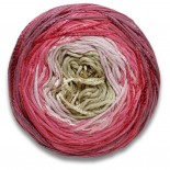 Lang yarns BLOOM f0061 beigerosamörkrosabrunrosa