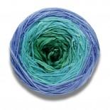 Lang yarns BLOOM f0073 blåturkosgrön
