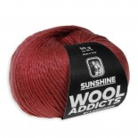 Wool Addicts Sunshine f0063 Djupröd