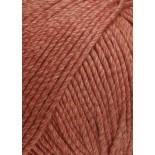 Lang yarns Soft Cotton f0061 rödrost