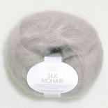Sandnes Silk Mohair f1032 Ljus lila/ silver