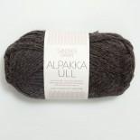 Sandnes Alpakka/Ull 1053 mörk gråmelerad