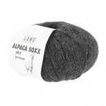 Lang Lang Alpaca SOXX 4-ply easywash f0005 mörkgrå
