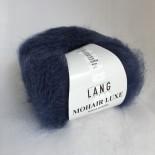 Lang Mohair Luxe f0010 Denimblå