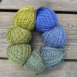 Schoppel-wolle Zauberperlen f2458 grön till blå