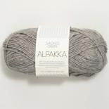 Sandnes Alpakka f1042 mellangrå
