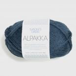 Sandnes Alpakka f6572 Mörk blåmel