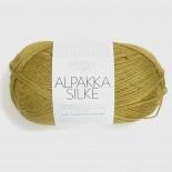 Sandnes Alpakka/silke f2024 gulgrön