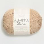 Sandnes Alpakka/silke f3021 lj beigemel. - Utgår