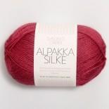 Sandnes Alpakka/silke f4327 hallonröd