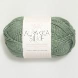 Sandnes Alpakka/silke f7741 grön
