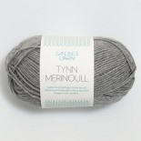 Sandnes Tynn Merinoull f1042 varm grå