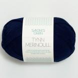 Sandnes Tynn Merinoull f5575 marin