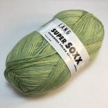 Lang Yarns Super SOXX Cashmere Color 4ply f0024 Ljust grönvit