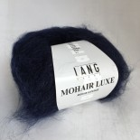 Lang Mohair Luxe f0025 Midnattsblå