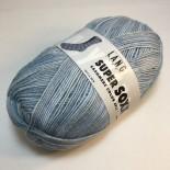 Lang Yarns Super SOXX Cashmere Color 4ply f0019 Ljus blåvit