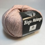 Lana Grossa Bingo Melange f234 ljusrosa