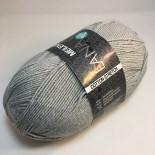 Lana Grossa Meilenweit 100 Cotton stretch f8024 ljusgrå