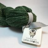 Lana Grossa Slow wool lino f009 Grön