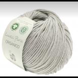 Lana Grossa Linea Pura Organico f029 ljust grå