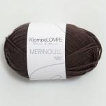 Sandnes KlompeLOMPE Merinoull f3081 mörkbrun