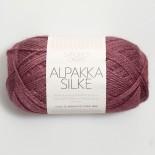 Sandnes Alpakka/silke f4244 mörk gammalrosa