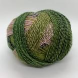 Schoppel-wolle Crazy Zauberball f2292 grönrosablå