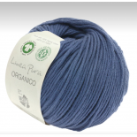 Lana Grossa Linea Pura Organico f057 blå