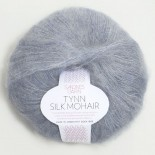 Sandnes Tynn Silk mohair f5835 blåmel.
