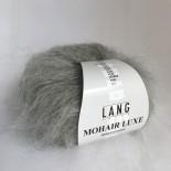 Lang Mohair Luxe f0003 Mellan Grå mel.