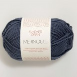 Sandnes Merinoull f6071 gråblå