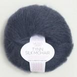 Sandnes Tynn Silk mohair f6081 djupblå