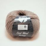 Lana Grossa Cool Wool melange f115 gråbrun