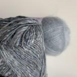 Noro Silk garden sock Solo 100gr f S2 blågrå