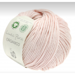 Lana Grossa Linea Pura Organico f076 ljus rosa