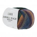 Lang Jawoll Magic Degradé f0054 grönvinrödblåbeigelila