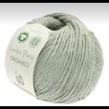 Lana Grossa Linea Pura Organico f089 ljust gröngrå
