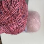 Noro Silk garden sock Solo 100gr f 10 rosa Asaka