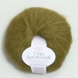 Sandnes Tynn Silk mohair f9850 olivgrön