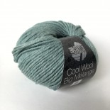 Lana Grossa Cool wool big melange f332 aqua