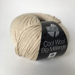 Lana Grossa Cool wool big melange f347 ljusbeige